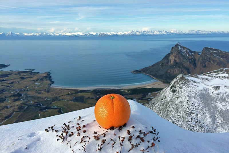 Mountaineering Trohornet,  Engeloya Steigen